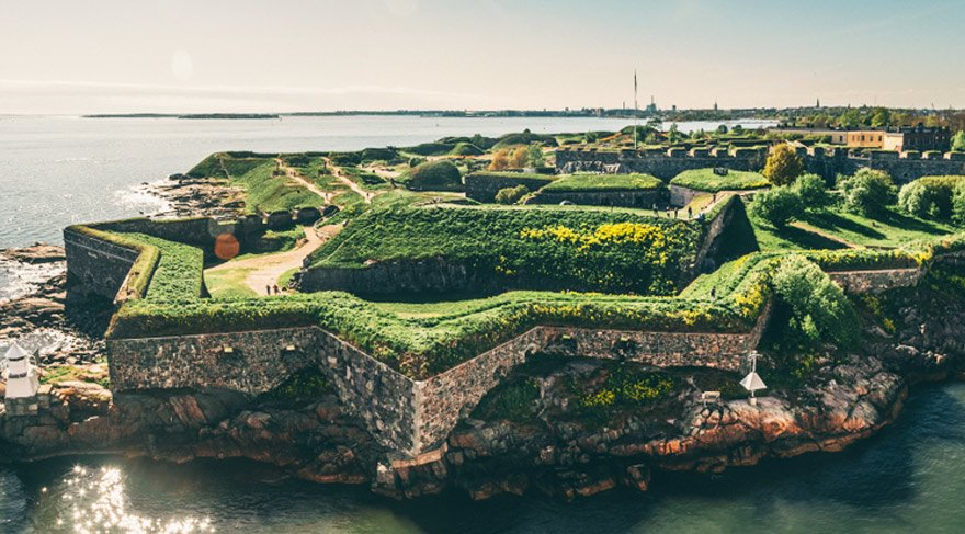 Fin kalesi Suomenlinna (İsveç ismi Sveaborg)