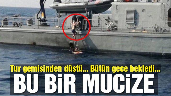 Tur gemisinde inanılmaz olay… 10 saat Adriyatik sularıyla boğuştu