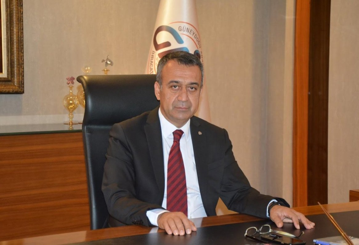 FOTO:SÖZCÜ - Güneydoğu Anadolu İhracatçı Birlikleri (GAİB) Koordinatör Başkanı Kileci