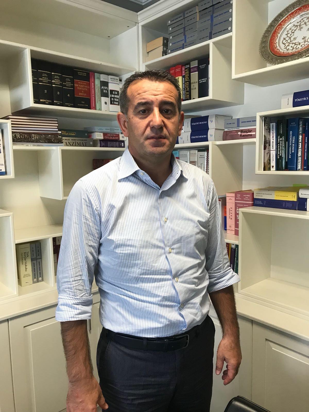 Avukat Hacı Asım Özcan, 3 yıllık hukuk mücadelesini kazandı.