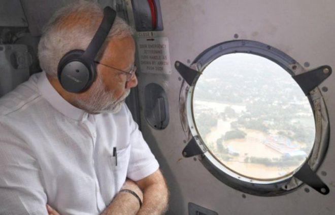 Bölgeyi uçaktan inceleyen Başbakan Narendra Modi ise 71 milyon dolarlık yardım sözü verdi.