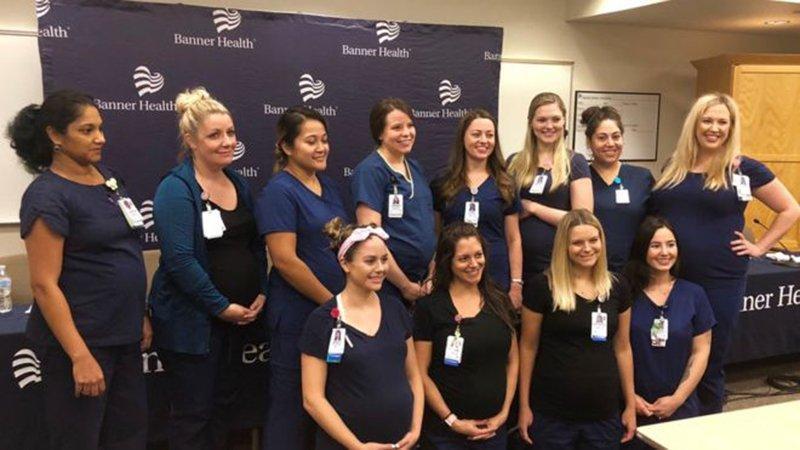Herkes bu hastaneyi konuşuyor... 16 hemşire birden hamile!