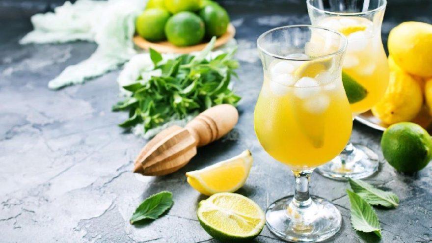 Böbrek sağlığı için limonata için
