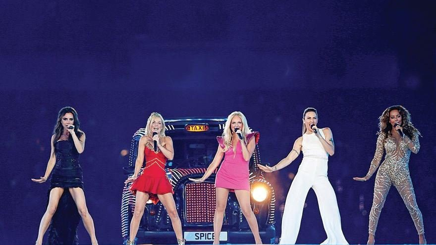 Spice Girls'e dair her şey