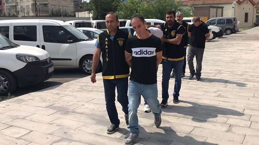 Aranan gasp zanlıları Adana'da yakalandı
