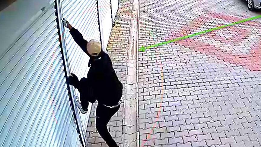 Rekortmen hırsız yakalandı