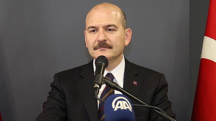 İçişleri Bakanı Soylu açıkladı: Arkadaşlarımıza talimatı verdim