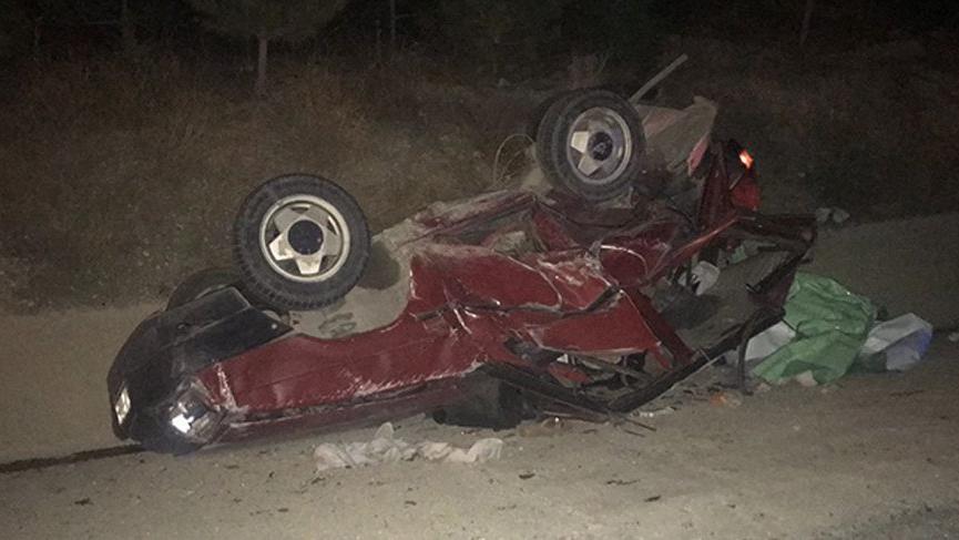 Afyonkarahisar kaza: 3 ölü, 6 yaralı