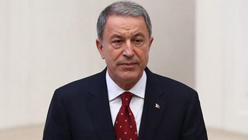 Milli Savunma Bakanı Akar'dan ABD'ye yaptırım tepkisi