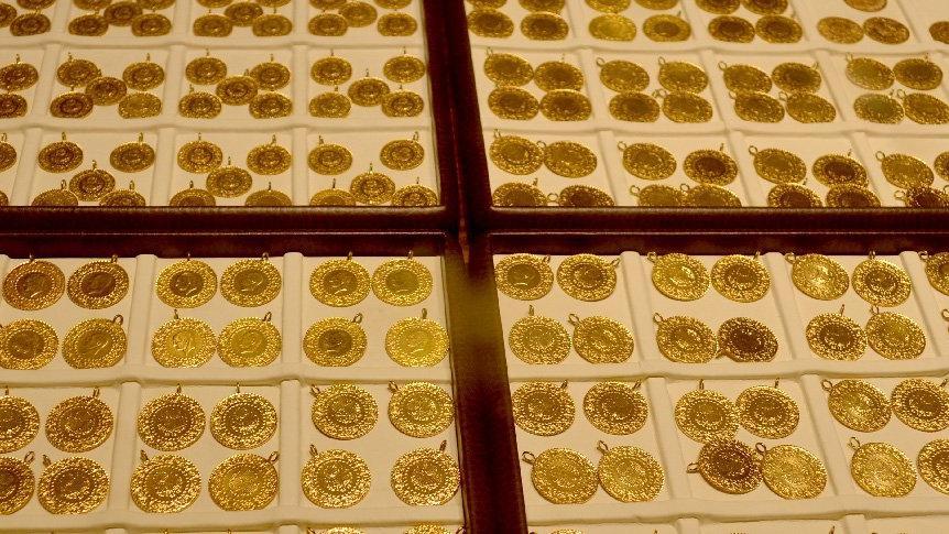 Çeyrek altın 336 TL, gram altın 206 TL oldu!