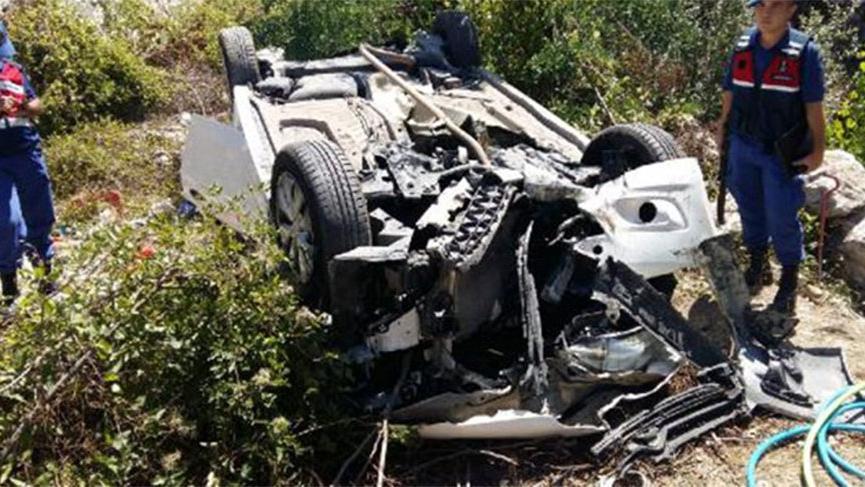 Amasya'da trafik kazası! Bir aile yok oldu
