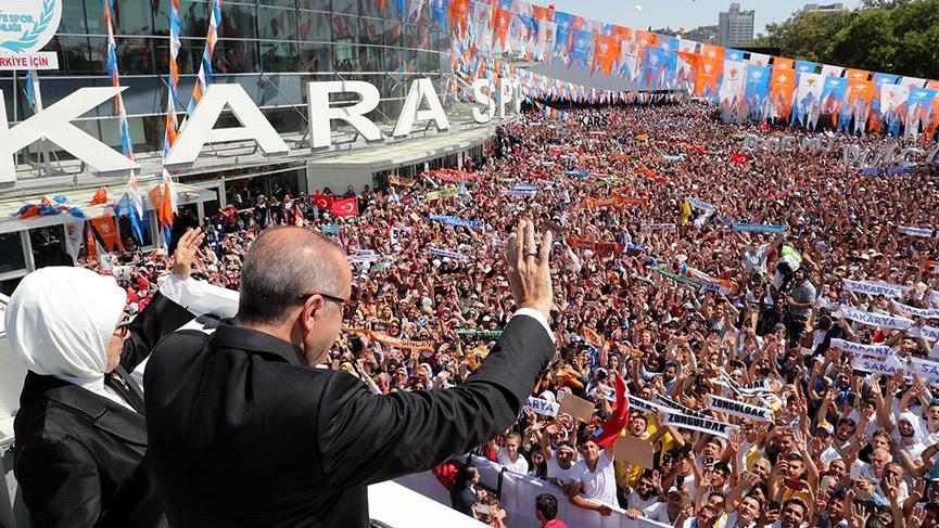 Erdoğan: Oyununuzu gördük, meydan okuyoruz