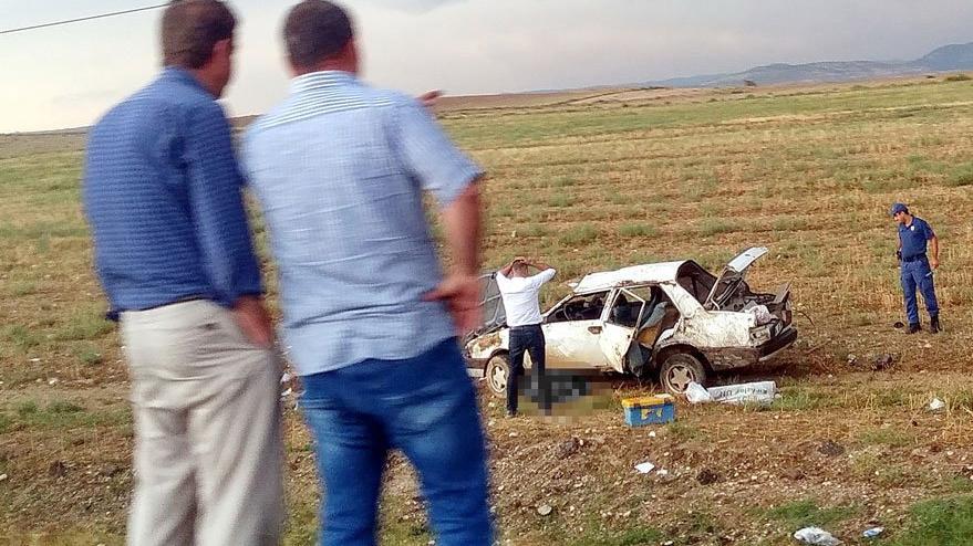 Meteoroloji uyarmıştı! Ankara'da feci kaza: 2 ölü, 1 yaralı