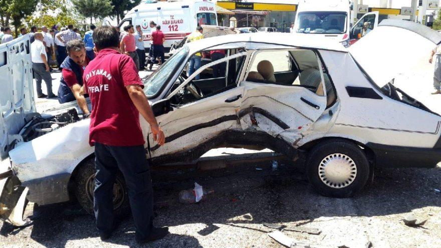 Adıyaman'da dehşete düşüren kaza