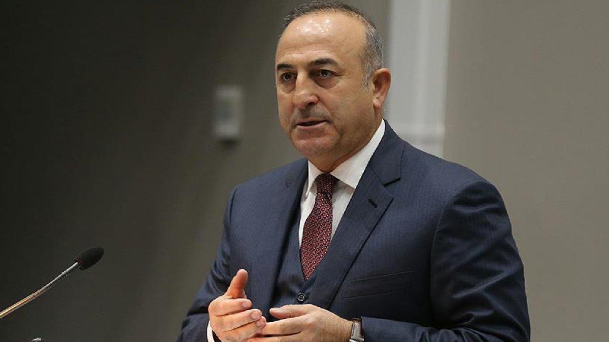 SON DAKİKA: Çavuşoğlu'ndan flaş ABD ve Rusya açıklaması