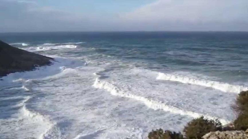 Şile'de yüksek dalgaların yanında oyun oynayan çocuk kayboldu