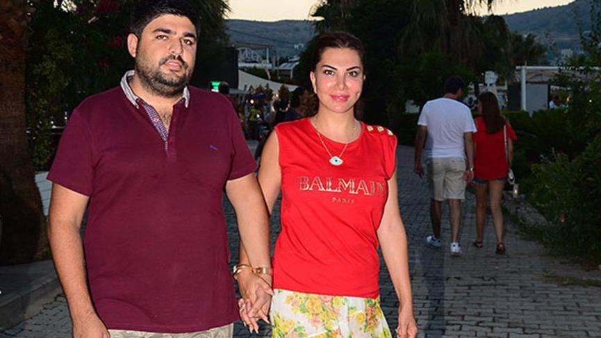 Ebru Yaşar ve eşinin balık keyfi