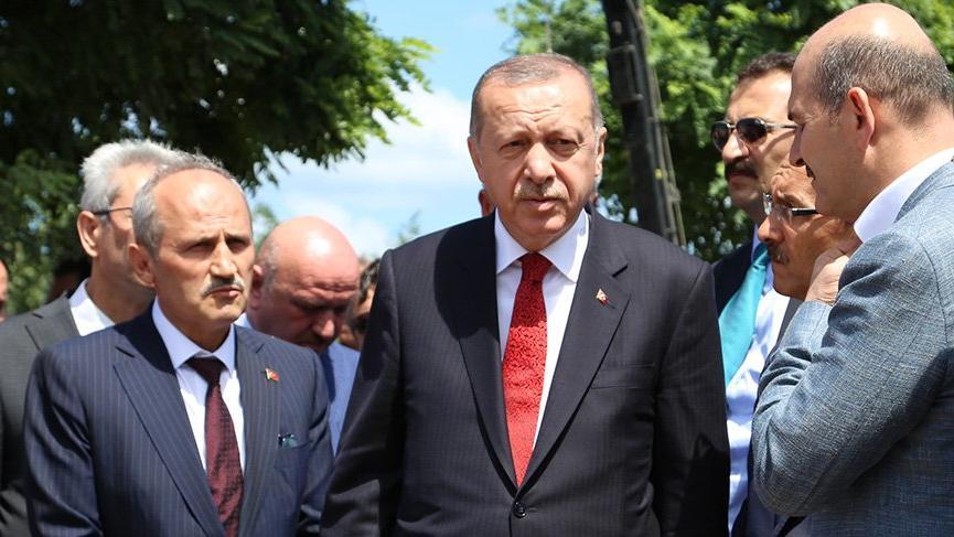 Erdoğan: Düştüğümüz yerden kalkarız