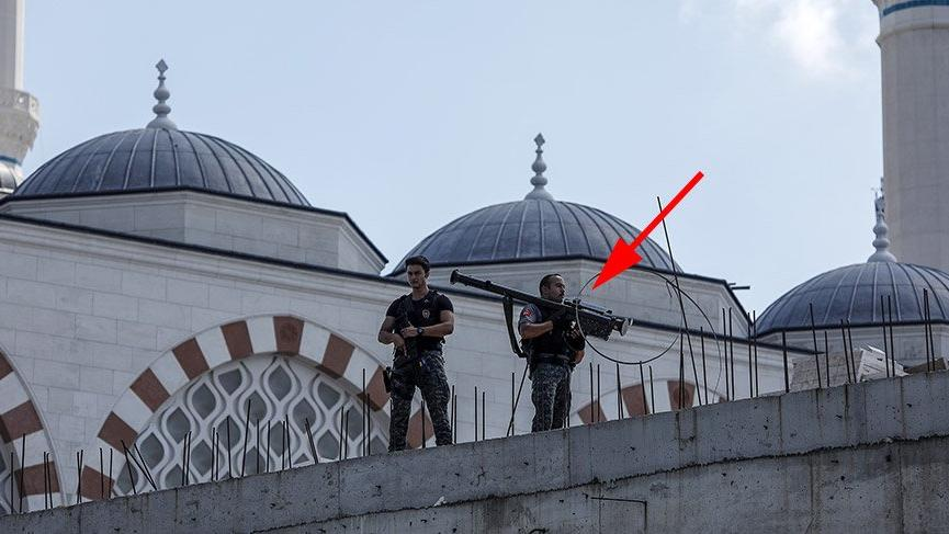 Erdoğan'a 'stinger'li seyyar hava savunma sistemi