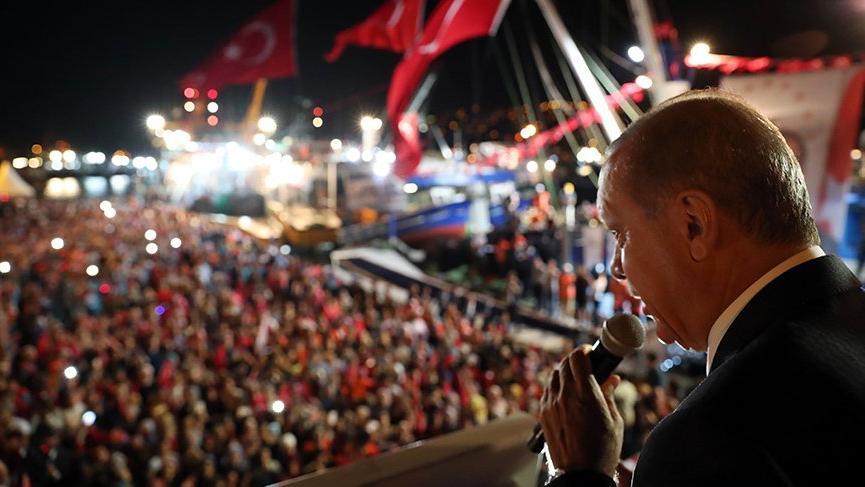 Erdoğan İstanbul'da balık avı sezonunu açtı