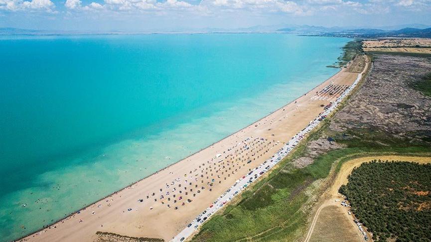 Türkiye'nin en büyük tatlı su gölü Konya'da