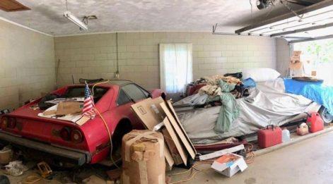 Büyükannesinin garajından 2.3 milyon TL'lik araç buldu