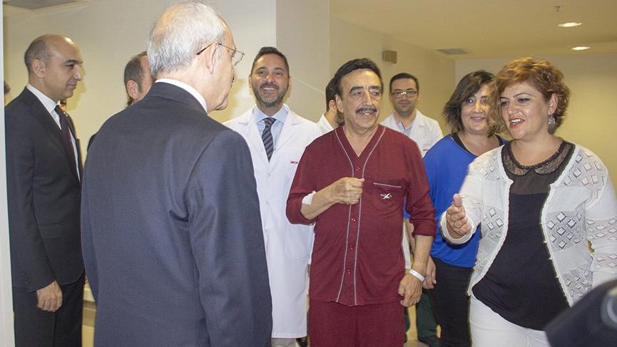 CHP liderinden Hakkı Bulut'a ziyaret