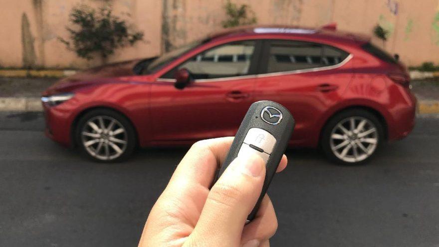Makyajlı Mazda 3