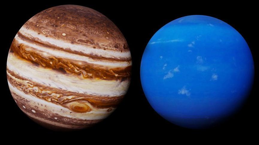 Jüpiter Neptün etkileşimi: Gökyüzü şifa dağıtıyor!