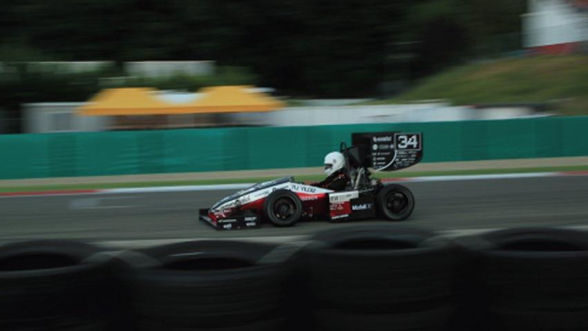 YTU Racing takımı Formula Student İtalya'da yarıştı
