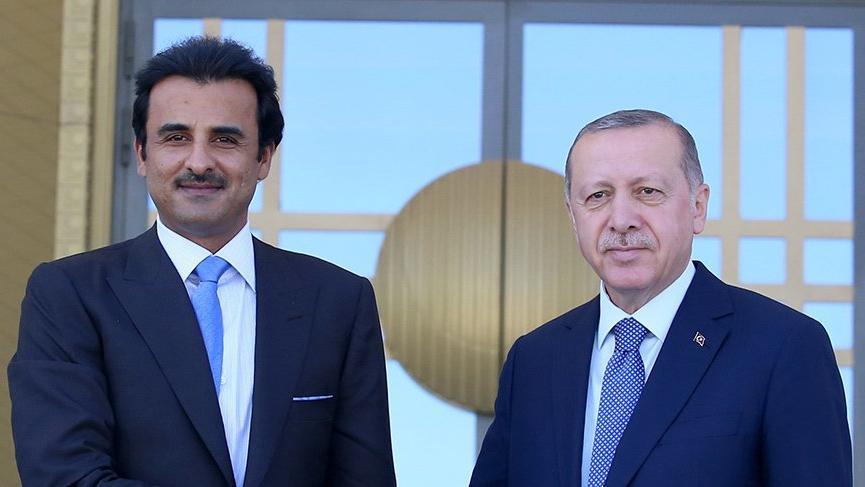 Erdoğan ve Albayrak'tan Katar mesajı!