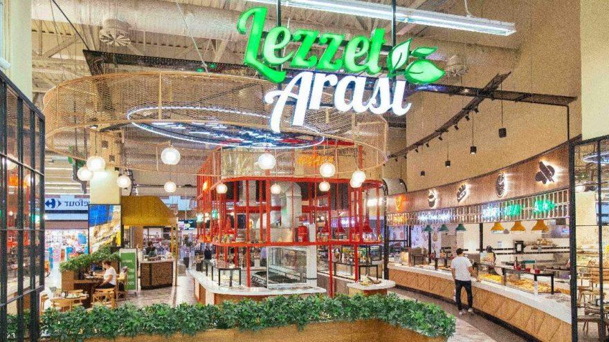 'Lezzet Arası' restoranları hizmete açıldı