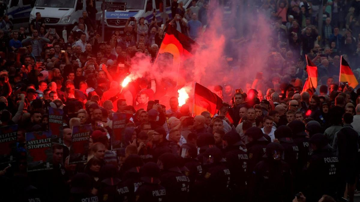 Almanya'daki skandal görüntüler ortaya çıktı