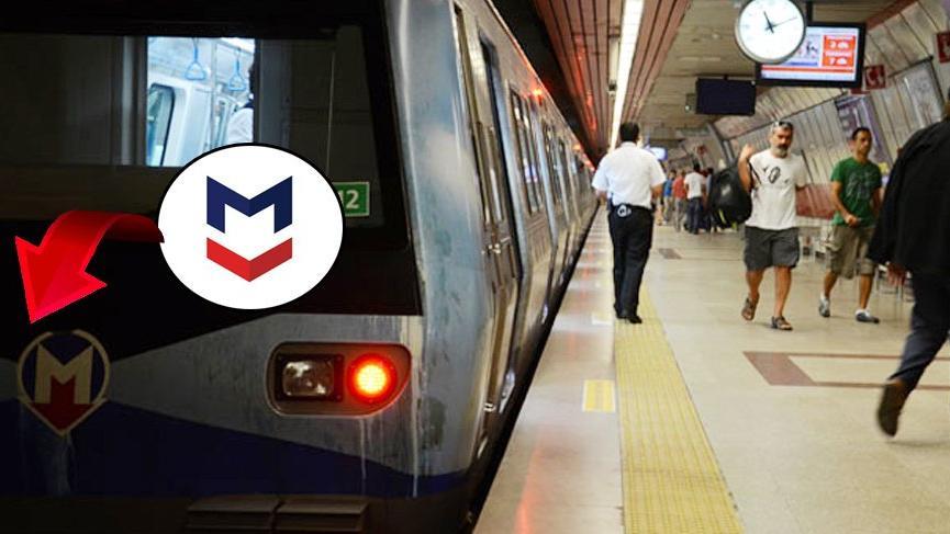 Metro İstanbul'da tabelalar yeni logo için değişecek
