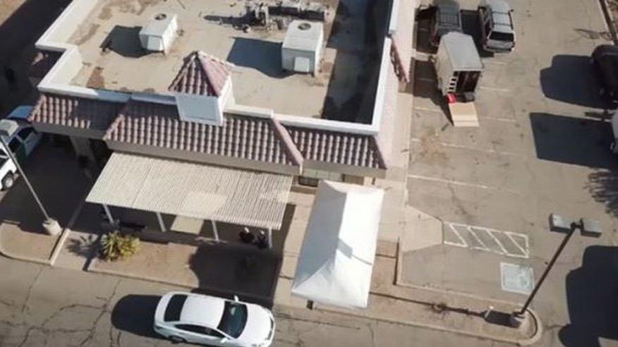 Tavuk lokantasından Meksika'ya uyuşturucu tüneli kazmışlar
