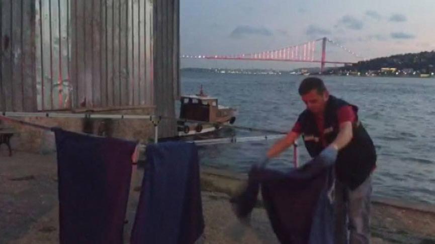 Üsküdar'da sahil vurmuş ceset bulundu
