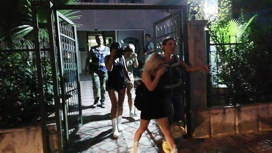 Masaj ve güzellik merkezine fuhuş baskını!