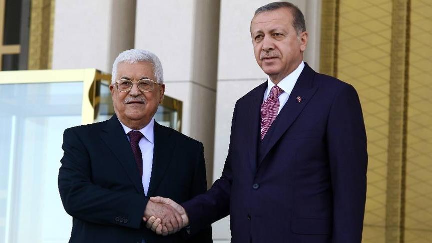 Erdoğan ile Abbas arasında sürpriz görüşme!