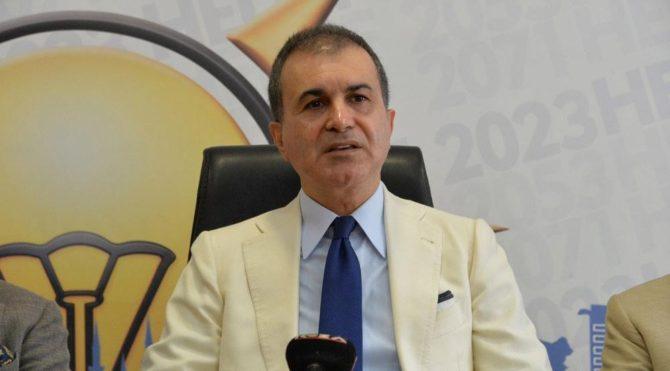 AKP Sözcüsü Çelik'ten Hamza Dağ'a Gül tepkisi