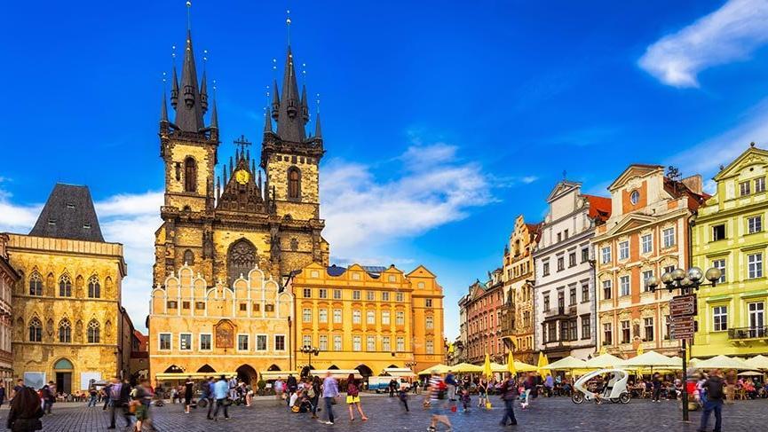Barok ve gotik mimarinin kalbi: Prag