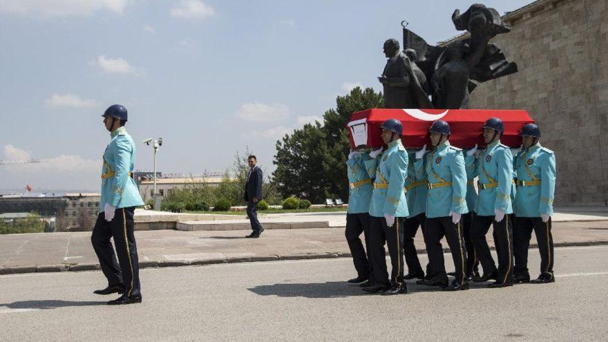 Eski milletvekili İsmail Göksel için TBMM'de cenaze töreni düzenlendi