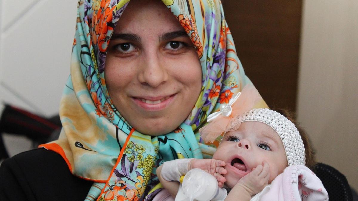 Türkiye'nin en hafif karaciğer nakli ona yapıldı