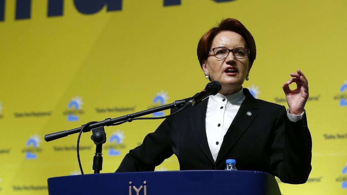Akşener yeniden genel başkan