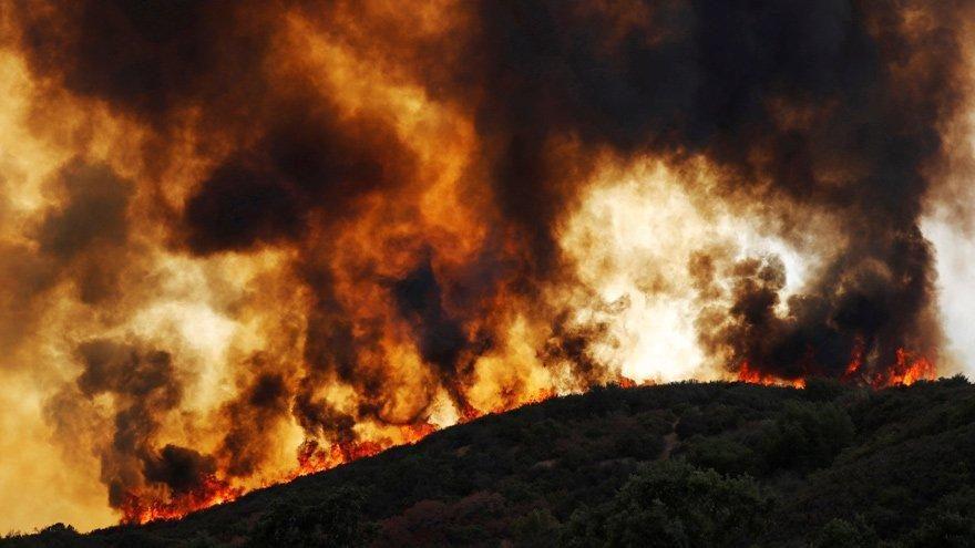 Kaliforniya'daki yangınlar günlerdir kontrol altına alınamıyor!