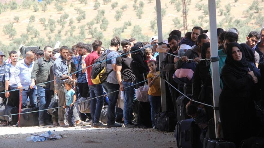 Suriyeliler, Kurban Bayramı için ülkelerine dönmeye başladı