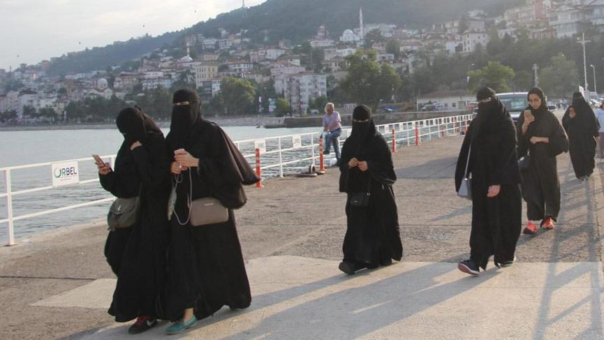 Arap turistler Bursa'ya akın etti