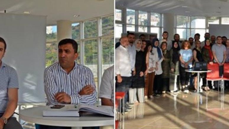 AKP ilçe teşkilatı devletin il müdürlüğünde toplandı