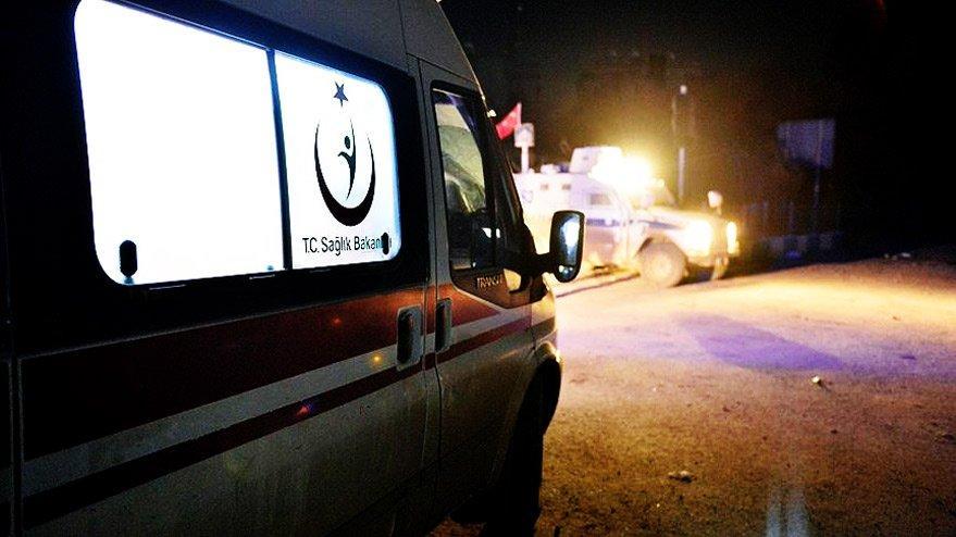 Hakkari'de hain saldırı! 1'i ağır, 9 polis yaralı