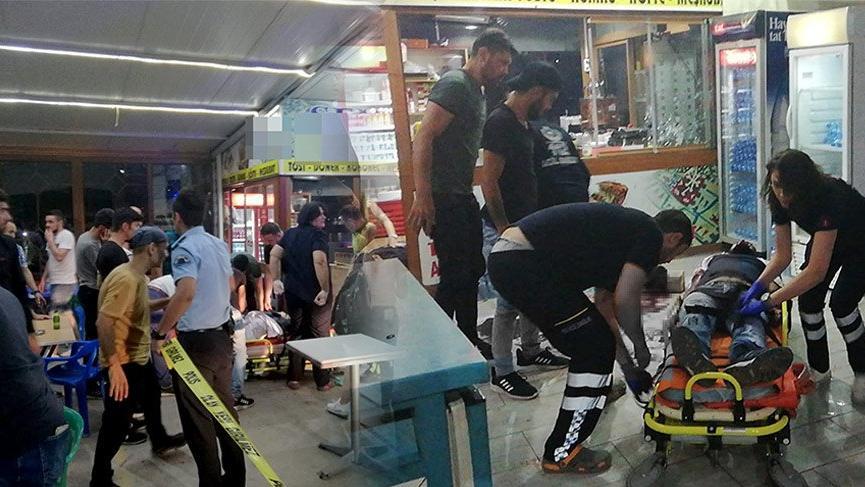 Uşak'ta silahlı saldırı! Bir ölü, 6 yaralı