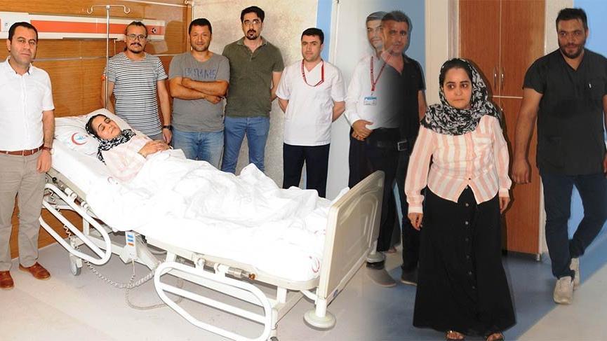 Şırnak'ta yatalak geldiği hastaneden yürüyerek çıktı